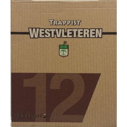 Westvleteren Trappist Westvleteren 12 Kado 2 x 33 cl + Glas