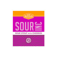 New Holland Brewing Company New Holland sour stout with cherries