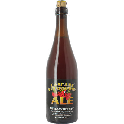 Cascade Brewing Cascade Brewing Strawberry 2014 Vintage - 75 cl