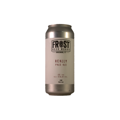 Frost Beer Works Frost Beer Works - Really Pale Ale - 473 ml