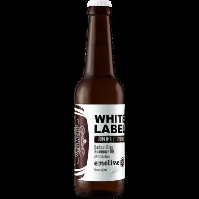 Brouwerij Emelisse (Slot Oostende) Emelisse White Label Barley Wine Bowmore BA 22/3/18 editie 2019 Nº 4 - 33 cl