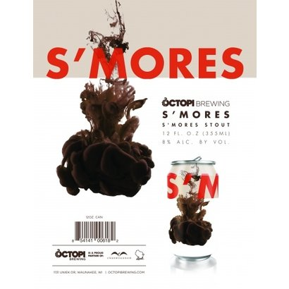 Octopi Brewing Octopi Brewing S'mores Stout - 35,5 cl