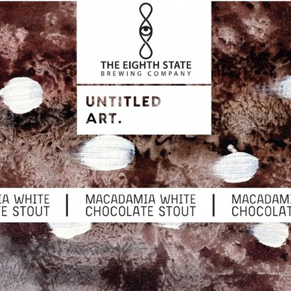 Untitled Art Macadamia White Chocolate Stout Collab with The Eighth State Brewing - 35,5 cl