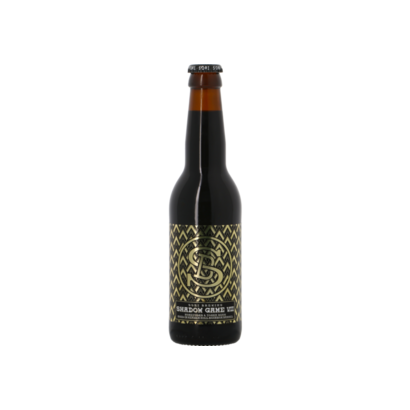 Sori Brewing Sori Shadow Game 7 Honeycomb & Tonka Beans Heaven Hill Bourbon BA - 33 cl