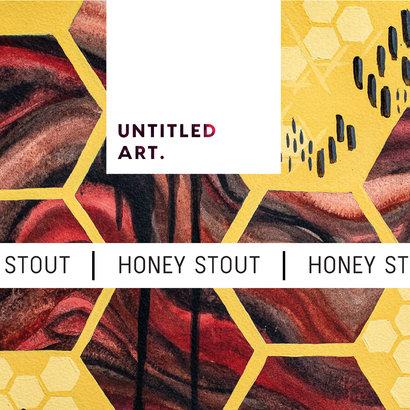 Untitled Art Untitled Art. Honey Stout - 35, 5 cl