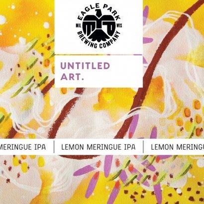 Untitled Art Untitled Art. Lemon Meringue - IPA 473 ml