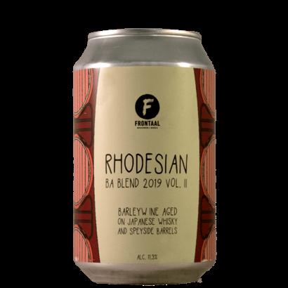 Brouwerij Frontaal Brouwerij Frontaal Rhodesian BA Blend 2019 Vol II - 33 cl