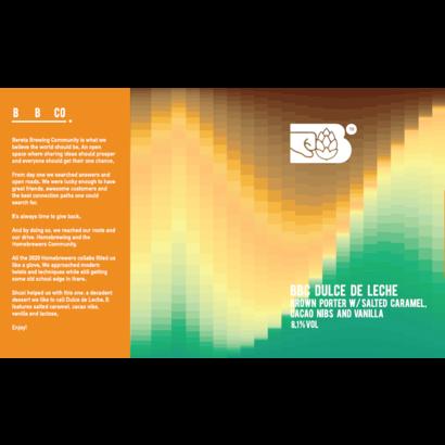 Bereta Brewing Co. BBC - Dulce De Leche w. Shuxi - 33 cl