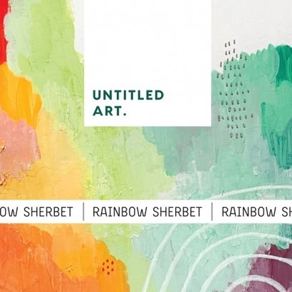 Untitled Art Untitled Art. Rainbow Sherbet - 473 ml