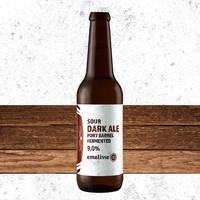 Brouwerij Emelisse (Slot Oostende) Emelisse Sour Dark Ale Port Barrel Fermented
