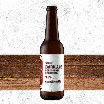 Brouwerij Emelisse (Slot Oostende) Emelisse Sour Dark Ale Port Barrel Fermented - 33 cl