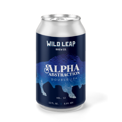 Wild Leap Brew Co. Wild Leap Co. Alpha Abstraction Vol. 12 - 35,5 cl