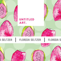 Untitled Art Untitled Art. Florida Seltzer Prickly Pear Pink Guava