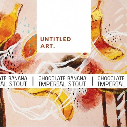 Untitled Art Untitled Art. Chocolate Banana Imperial Stout - 35, 5 cl