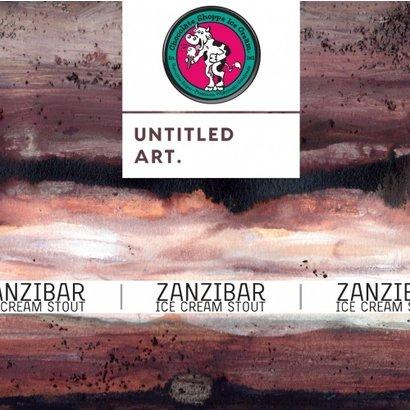 Untitled Art Untitled Art. Zanzibar Chocolate Ice Cream Stout - 473 ml
