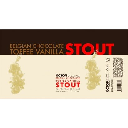 Octopi Brewing Octopi Brewing Belgian Chocolate Toffee Vanilla Stout - 35,5 cl