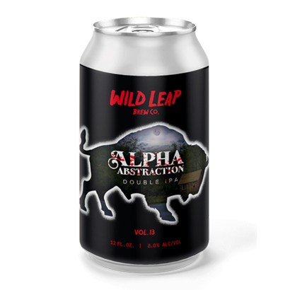 Wild Leap Brew Co. Wild Leap Brew Co. Alpha Abstraction Vol. 12 - 35,5 cl