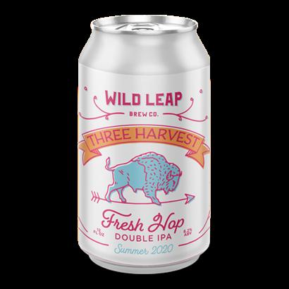 Wild Leap Brew Co. Wild Leap Brew Co. Three Harvest 2020 - 35,5 cl