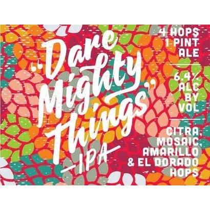 The Brewing Projekt The Brewing Projekt Dare Mighty Things IPA - 473 ml
