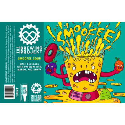 The Brewing Projekt The Brewing Projekt Smoofee Sour Passionfruit Mango Guava - 473 ml