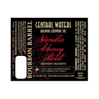 Central Waters Brewing Co. Central Waters Brewer's Reserve Vanilla Cherry Stout