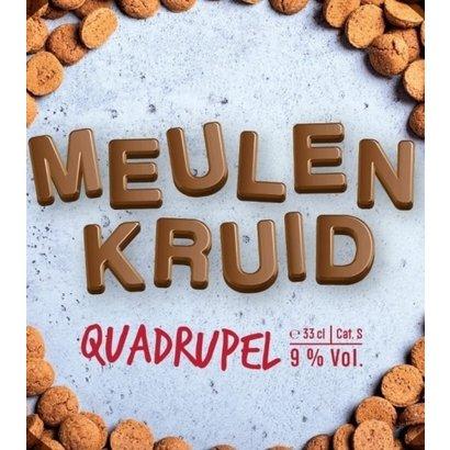 Brouwerij 't Meuleneind Brouwerij 't Meuleneind Meulenkruid Quadrupel - 33 cl