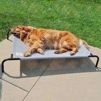 Coolaroo Dog bed Large Grijs 110x80cm