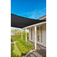 Coolaroo 15 yr warranty Coolaroo Square 5,4m Graphite 15yr