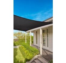 Coolaroo Schaduwdoek vierkant Graphite 5,4 m 15 jr Commercial