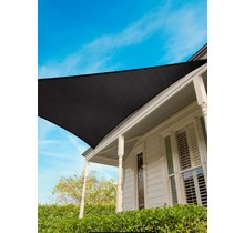 Coolaroo Voile d'ombrage triangulaire Graphite 5 m 15 ans Commercial