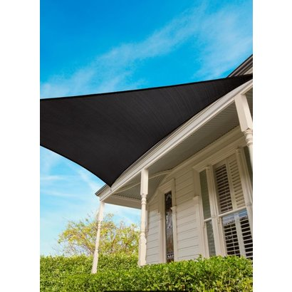 Coolaroo 15 yr warranty Coolaroo Shade sail triangle Graphite 5m 15 yr Commercial