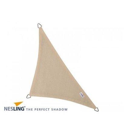Nesling Nesling Schaduwdoek coolfit Driehoek 90° 4m Ivoor N508-090-34
