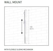 Ingenua Muurprofiel met sliding unit