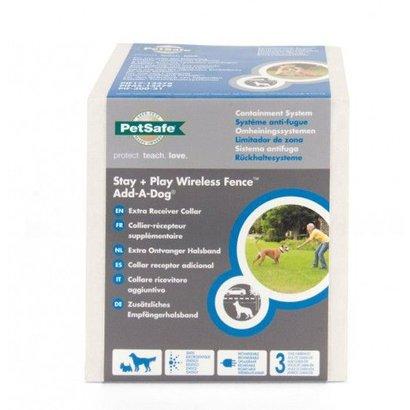 PetSafe Stay + Play Wireless fence - Extra ontvangerhalsband Add-A-Dog - PIF19-14011