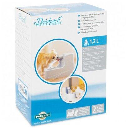 Drinkwell by PetSafe Petsafe drinkfontein mini voor hond en kat 1.2 liter Mini-EU-45