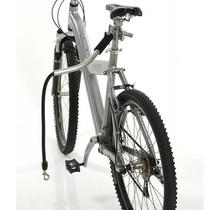 PetEgo Barre à vélo universelle avec laisse anti-chocs Cycleash