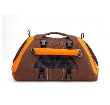 PetEgo Jet Set draag- en reistas voor hond en kat Bruin / Oranje