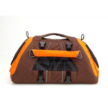 PetEgo PetEgo Jet Set draagtas voor hond en kat Bruin / Oranje