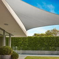 Coolaroo 15 yr warranty Coolaroo Triangulaire 5m Stone 15ans