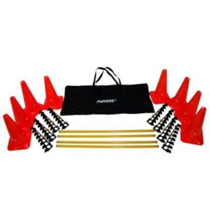 FitPAWS FitPAWSHurdle Set -Ensemble de cônes et d'obstacles d'agilité