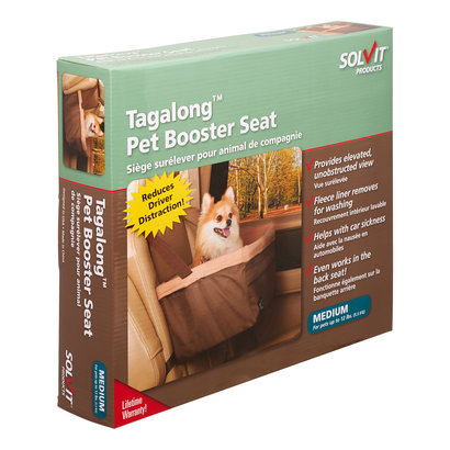 Solvit - Mr. Herzher's by PetSafe Solvit Tagalong Pet Booster Seat - Stoelverhoger