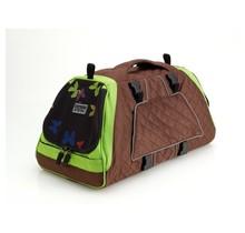 PetEgo Jet Set sac de transport pour chien et chat Brun / Vert