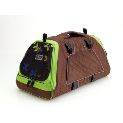 PetEgo PetEgo Jet Set Carrier for dog and cat Brown / Green SMALL - MEDIUM