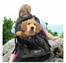 Kurgo dog or cat Backpack G-Train K9 Pack Black