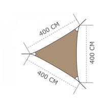 Ingenua Shade sail Triangle