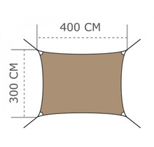 Ingenua Voile d'ombrage Rectangulaire - Rectangle