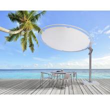 ECLIPSUM decorative round offset umbrella