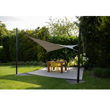 Nesling Shade sail Coolfit Square 3,6x3,6m & 5x5m