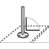 Ingenua Ingenua repose-pieds - socle 90°