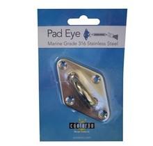 Pad eye in stainless steel